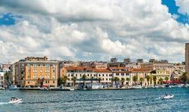 Cityscape of Zadar in Croatia stock photos