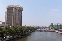 Cityscape of Zhongshan Royalty Free Stock Photo