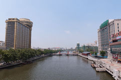 Cityscape of Zhongshan Stock Photography