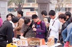 Cityscape of Zhongshan Stock Photos
