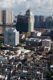 Cityscape Zhuhai and Macao Stock Images