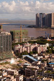 Cityscape Zhuhai and Macao Royalty Free Stock Photo