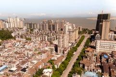 Cityscape Zhuhai and Macao Stock Photos