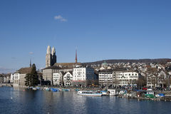 Cityscape of Zurich Royalty Free Stock Image
