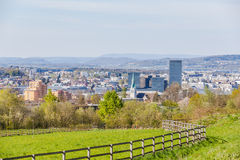 Cityscape of Zurich Royalty Free Stock Photo