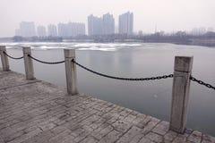 cityscapejanuari moscow russia vinter 2010 royaltyfria foton