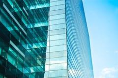 Cityscapekontorsbyggnadar fotografering för bildbyråer