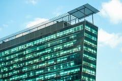 Cityscapekontorsbyggnader arkivbilder