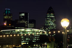 cityscapelondon natt arkivbilder