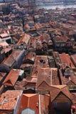 cityscapeporto portugal tak Royaltyfri Fotografi