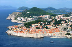 Cityscapes Dubrovnik, Croatia, Europe Royalty Free Stock Image