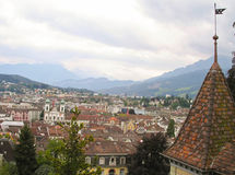 Cityscapes of Lucerne, Switzerland. royalty free stock photos