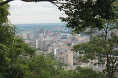 Cityscapes Montreal Royalty Free Stock Photos