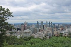 Cityscapes Montreal Stock Photography