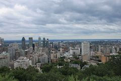 Cityscapes Montreal Royalty Free Stock Photo