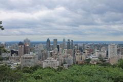 Cityscapes Montreal Stock Photos
