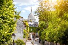Cityscapesikt av Paris Royaltyfri Bild