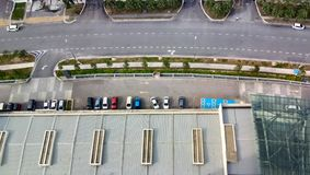 Cityscapesikt på cyberjayastaden, Arkivbilder