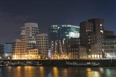 Cityscapte de Düsseldorf Fotos de archivo libres de regalías