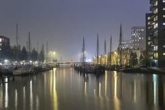 Cityscapte von Groningen Stockbild
