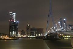 Cityscapte von Rotterdam Stockfoto