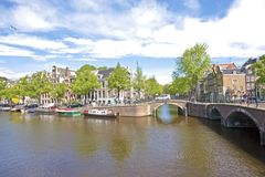 Cityscenic from Amsterdam Netherlands Royalty Free Stock Photos
