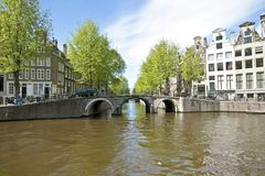 Cityscenic from Amsterdam Netherlands Royalty Free Stock Photo