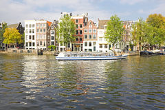Cityscenic from Amsterdam in the Netherlands Royalty Free Stock Image