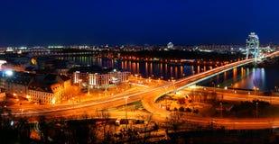 Cityspace de Bratislava Foto de Stock Royalty Free