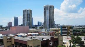 Citysskape de Tampa fotos de archivo