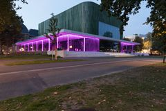 Citytheater in Arnhem Holland lizenzfreies stockbild
