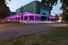 Citytheater i Arnhem Holland royaltyfri bild