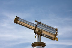 cityview τηλεσκόπιο Στοκ Φωτογραφίες