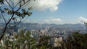 Cityview Гонконга стоковая фотография