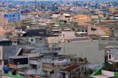 Cityview aéreo de Medan, Indonesia imágenes de archivo libres de regalías
