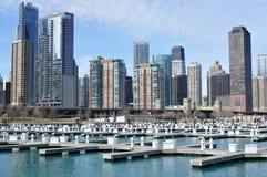 cityview chicago жилых домов Стоковая Фотография