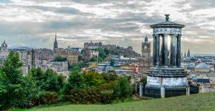 Cityview de Edimburgo imágenes de archivo libres de regalías
