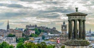 Cityview de Edimburgo foto de archivo