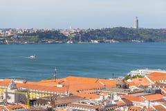 Cityview de Lisboa fotografia de stock