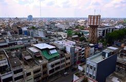 Cityview de Medan, Indonésie photographie stock libre de droits