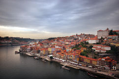 Cityview de Oporto Foto de archivo