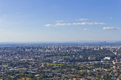 Cityview de Porto Alegre Photo stock