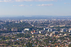 Cityview de Porto Alegre Images stock