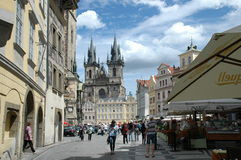 Cityview de Prague Photographie stock libre de droits