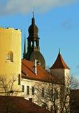 Cityview de Riga, Latvia. Imagen de archivo libre de regalías