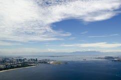Cityview de Rio de janeiro Fotos de Stock Royalty Free