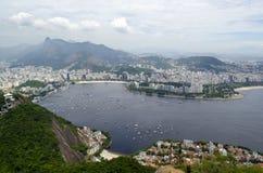 Cityview de Rio de janeiro Imagem de Stock