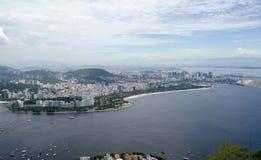 Cityview de Rio de janeiro Foto de Stock Royalty Free