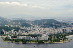Cityview de Rio de janeiro Imagem de Stock Royalty Free