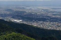 Cityview de Rio de janeiro Fotos de Stock